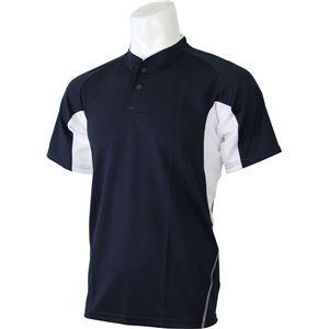 adidas(アディダス) プラクティス2ボタンシャツ カラー:ナイトネイビー サイズ:J/M