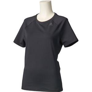 adidas(アディダス) D2M トレーニング ベーシック半袖Tシャツ カラー:ブラック サイズ:J/OT Women's