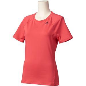 adidas(アディダス) D2M トレーニング ベーシック半袖Tシャツ カラー:コアピンク サイズ:J/M Women's