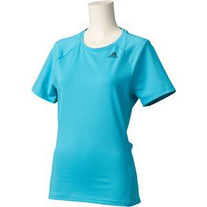 adidas(アディダス) D2M トレーニング ベーシック半袖Tシャツ カラー:エナジーブルー サイズ:J/L Women's