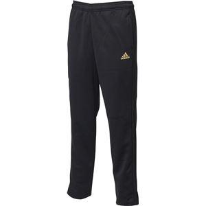 adidas(アディダス) ESSENTIALS 3ストライプス ジャージパンツ カラー:ブラック/ゴールドメット サイズ:J/M