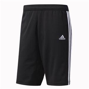 adidas(アディダス) ESSENTIALS ジャージハーフパンツ カラー:ブラック/ブラック/ホワイト サイズ:J/L