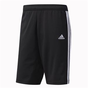 adidas(アディダス) ESSENTIALS ジャージハーフパンツ カラー:ブラック/ブラック/ホワイト サイズ:J/S