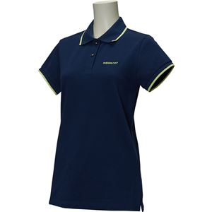 adidas(アディダス) HM シンプルポロシャツ W カラー:カレッジネイビー サイズ:J/OT Women's