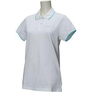 adidas(アディダス) HM シンプルポロシャツ W カラー:ホワイト サイズ:J/M Women's