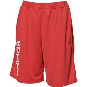 adidas(アディダス) TEAM ライトジャージハーフパンツ カラー:コアピンク サイズ:J/L Women's