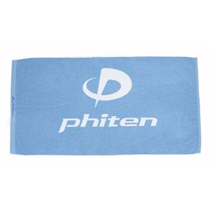 ファイテン(PHITEN) Phiten バスタオル ターコイズ TU564200 - 拡大画像