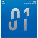 ヤマト卓球 VICTAS(ヴィクタス) 裏ソフトラバー V>01スティフ 020351 レッド MAX