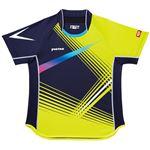 ヤマト卓球 VICTAS(ヴィクタス) 卓球アパレル V-SW028 Viscotecs ゲームシャツ(男女兼用) 031456 ライム Lサイズ