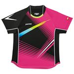 ヤマト卓球 VICTAS(ヴィクタス) 卓球アパレル V-SW028 Viscotecs ゲームシャツ(男女兼用) 031456 ピンク Lサイズ