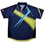 ヤマト卓球 VICTAS(ヴィクタス) 卓球アパレル V-SW035 Viscotecs ゲームシャツ(男女兼用) 031458 ライム XOサイズ