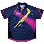 ヤマト卓球 VICTAS(ヴィクタス) 卓球アパレル V-SW035 Viscotecs ゲームシャツ(男女兼用) 031458 ピンク Lサイズ
