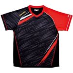 ヤマト卓球 VICTAS(ヴィクタス) 卓球アパレル V-SW036 ゲームシャツ(男女兼用) 031459 レッド Sサイズ