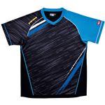 ヤマト卓球 VICTAS(ヴィクタス) 卓球アパレル V-SW036 ゲームシャツ(男女兼用) 031459 ブルー XXOサイズ