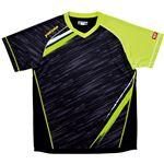 ヤマト卓球 VICTAS(ヴィクタス) 卓球アパレル V-SW036 ゲームシャツ(男女兼用) 031459 ライム XXOサイズ