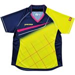 ヤマト卓球 VICTAS(ヴィクタス) 卓球アパレル V-LS037 Viscotecs ゲームシャツ(女子用) 031460 ライム XOサイズの画像