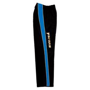 ヤマト卓球 VICTAS(ヴィクタス) トレーニングパンツ V-JP013 033145 ブルー×ブラック Sサイズ
