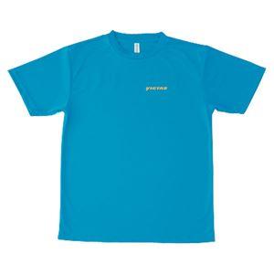 ヤマト卓球 VICTAS(ヴィクタス) Tシャツ V-TS016 033450 ブルー XXOサイズ
