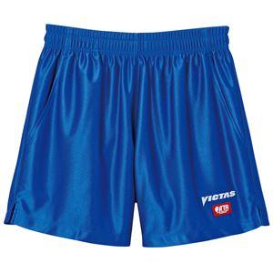 ヤマト卓球 VICTAS(ヴィクタス) 卓球パンツ V-SP030 ゲームパンツ(男女兼用) 034551 ブルー Lサイズ
