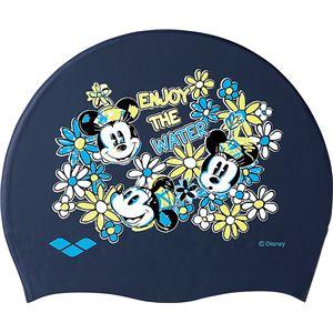 デサント ARENA(アリーナ) Disney シリコンキャップ DIS7362 ネイビー F(50-59)サイズ