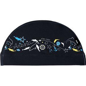 デサント ARENA(アリーナ) TEXTILE CAP テキスタイルキャップ FAR7920 ブラック F(54-59)サイズ