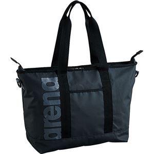 デサント ARENA(アリーナ) BAG トートバッグ FAR7926 ブラック×グレイ - 拡大画像