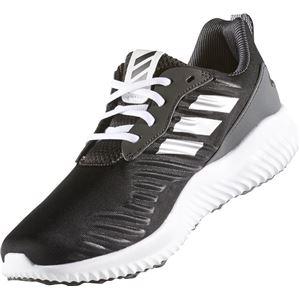 adidas(アディダス) ランニングシューズ B42652 コアブラック×ランニングホワイト×ユーティリティブラック 25cm