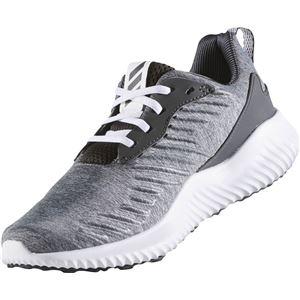 adidas(アディダス) ランニングシューズ B42860 ダークグレーヘザー×ソリッドグレー×ダークグレー 27.5cm