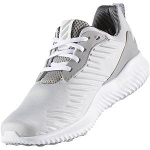 adidas(アディダス) ランニングシューズ B42863 ライトグレーヘザー×LGHソリッドグレー×MGHソリッドグレー 26.5cm