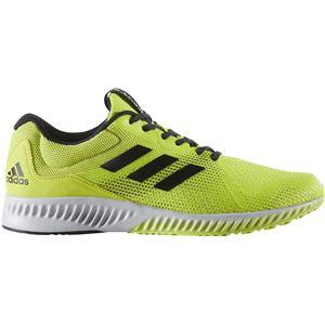adidas(アディダス) ランニングシューズ BW1559 セミソーラーイエロー×コアブラック×グレーTWO 28cm