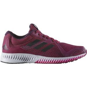 adidas(アディダス) ランニングシューズ BW1571 ミステリールビー×コアブラック×エナジーピンク 25cm