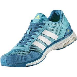 adidas(アディダス) ランニングシューズ BY2783 エナジーブルー×ランニングホワイト×エナジーアクア 23.5cm
