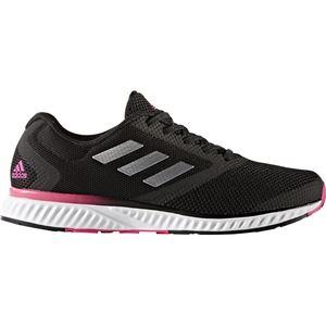 adidas(アディダス) ランニングシューズ CG5342 コアブラック×シルバーメット×ショックピンク 24.5cm