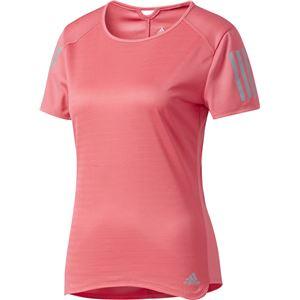 adidas(アディダス) RESPONSE 半袖Tシャツ W スーパーピンク J/L NDX91
