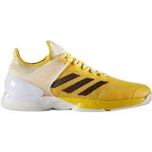 adidas(アディダス) adizero ubersonic 2 AC(オールコート用) イーキューティーイエロー×コアブラック×ランニングホワイト 28cm CG3083