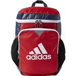adidas(アディダス) KIDS バックパック 9 スカーレット×カレッジネイビー NS DMD15