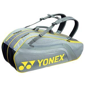 Yonex(ヨネックス) TOURNAMENT SERIES ラケットバック6 リュック付き(ラケット6本用) グレー BAG1812R