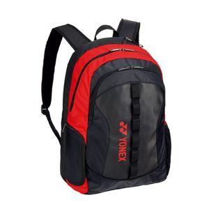 Yonex(ヨネックス) TOURNAMENT SERIES バッグパック(テニスラケット2本用) ブラック×レッド BAG1818