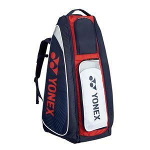 Yonex(ヨネックス) TOURNAMENT SERIES スタンドバッグ リュック付(テニスラケット2本用) ネイビー×レッド BAG1819