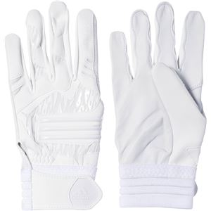 adidas(アディダス) Baseball 5T バッティンググローブ DMU57 ホワイト×ホワイト S