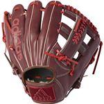 adidas(アディダス) Baseball 軟式カラーグラブ IT DUV03 ダークバーガンディ×スカーレット RH