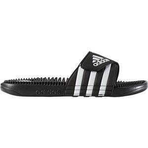 adidas(アディダス) スポーツサンダル アディサージ 078260 ブラック×ブラック×ランニングホワイト 27.5cm 商品画像