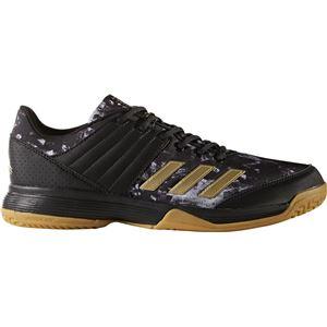 adidas(アディダス) バレーボールシューズ Ligra 5 BY2572 コアブラック×ゴールドメット×ランニングホワイト 27.5cm