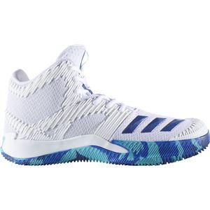 adidas(アディダス) バスケットボールシューズ SPG(スコアリング・ポイント・ガード) BY4484 ランニングホワイト×カレッジロイヤル×エナジーブルー 27.5cm