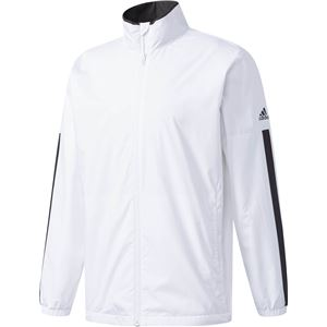 adidas(アディダス) M ESSENTIALS ベーシックウインドブレーカージャケット (裏起毛) DUV68 ホワイト J/M