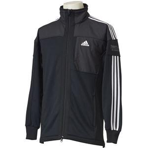 adidas(アディダス) M adidas 24/7 ハイブリッドウォームアップ ジャージジャケット ECF36 ブラック J/L