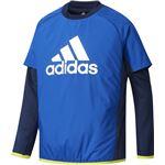 adidas(アディダス) Boys TRN CLIMIX パデッドプルオーバー DUV98 カレッジロイヤル J140