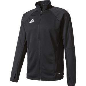 adidas(アディダス) TIRO17 トレーニングジャケット MMC67 ブラック×ホワイト J/XO - 拡大画像