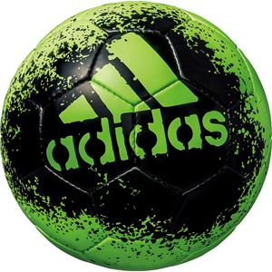 モルテン(Molten) サッカーボール5号球 エックス グライダー ソーラーグリーン×ブラック AF5621GBK - 拡大画像