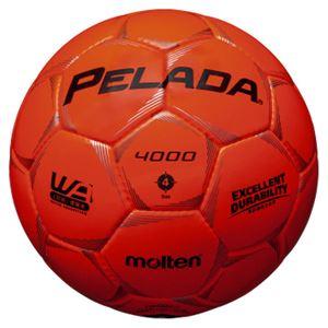モルテン(Molten) サッカーボール4号球 ペレーダ4000 蛍光オレンジ F4P4000O
